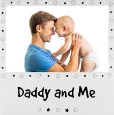 details about new daddy and me picture frame silver dad baby son daughter father 6x4 photo