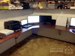 diy u shaped desk. Interesting Desk UShaped Wrap Around Desk On Diy U Shaped 7
