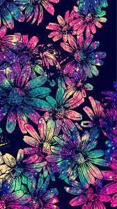 Blue Flowers Galaxy Wallpaper ...