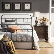 rustic metal bed frame | h o u s e ✰ | Metal beds, Bed, Bed frame