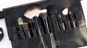 bh cosmetics makeup brushes and brush belts review beauty on a budget e l f studio e l f studio makeup artist