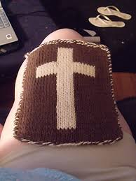 Ravelry Double Knit Cross Potholder Chart Pattern By Ann