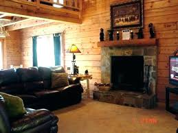 Log Cabin Living Room Stunning Cabin Style Furniture Log Living Room Families Set Home Architec