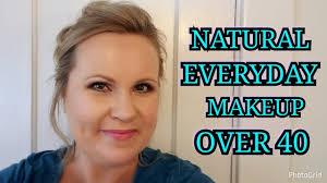 natural everyday makeup look over 40 skin office appropriate mrsmelissam
