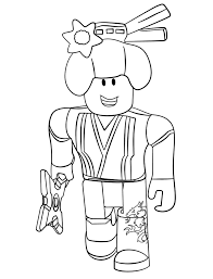 Personalize this coloring page : Roblox Ninja Coloring Page Free Printable Coloring Pages For Kids