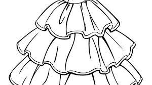 Wedding Dress Coloring Pages Printable Disney Princess Ariel For