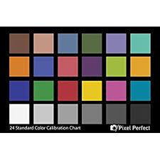 Color Calibration Chart