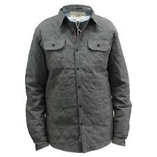 Mens Quilted Shirt Soulstar Padded Grey - Size Large UK MS OLD ... & Image is loading Mens-Quilted-Shirt-Soulstar-Padded-Grey-Size-Large- Adamdwight.com