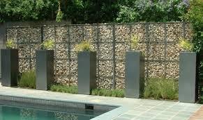 Small Picture Gabion Walls Design Furniture Inspiration Interior Design