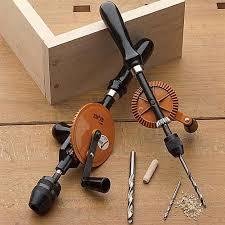 manual hand drill. beautiful german-made hand drills by garrett wade manual drill a