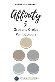 Benjamin Moore Aura Color Chart Benjamin Moore Affinity The Best Neutral Beige Gray