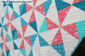 Pinwheel Puzzle Quilt Â« Moda Bake Shop & Pinwheel Puzzle quilt pattern by Kirsty @Bonjour Quilts for Moda Bake Shop Adamdwight.com