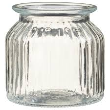 337374 decorative glass storage jar 2