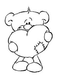 Small Picture Image detail for Heffalump Valentine Coloring Page of heffalump