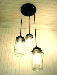 mason jar pendant light ball lights kit kitchen jars lamp