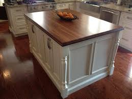 paint grade white kitchen island legs
