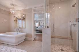 square soaking tub bathroom traditional with bathroom chandelier bathroom tile image by patterson custom homes