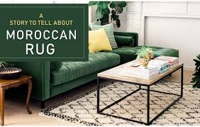 moroccan rug a story tell