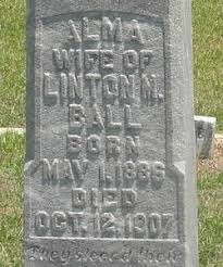 Alma Ball (1886-1907) - Find A Grave Memorial