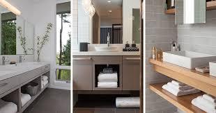 vanity bathroom cabinet. 15 Examples Of Bathroom Vanities That Have Open Shelving Vanity Cabinet I