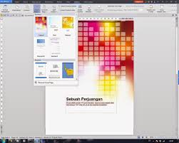 cover pages template bawaan wps office writer infotutorial com fasilitas cover page templates di wps office writer