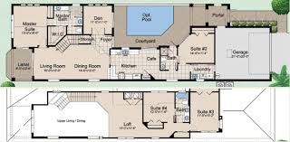 u shaped house plans with courtyard pool inspirational spanish style house plans with central courtyard mesmerizing