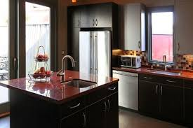 african red granite kitchen countertops