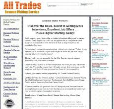 resume review service cost of all trades best writing