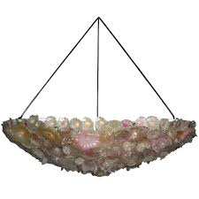 oly studio flower bowl chandelier