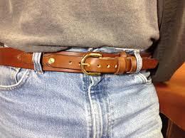 hand stitched ranger belt
