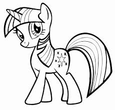 Coloring Pages Birthday Printable My Little Pony Coloring Pages