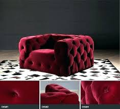 red leather tufted sofa modern epic in inspiration with inside ottoman chair black