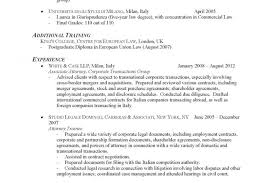 Lawyer Resume Coverttergal Job Examples Law Enforcement General