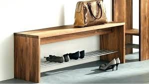 shoe storage bench seats narrow with entryway diy pallet w17