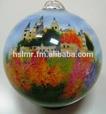 Hand Decorated Christmas Balls Hand Painted Glass Christmas Ball Burg Hohenzollern Buy 51