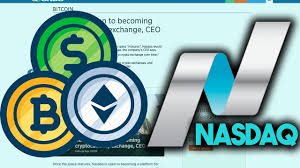 Nasdaq Quote Adorable NASDAQ LARGEST EXCHANGE IN THE WORLD WANTS TO BECOME A CRYPTO
