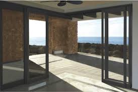 offering generous views this weather resistant aluminum and glass framed sliding door is designed with vast