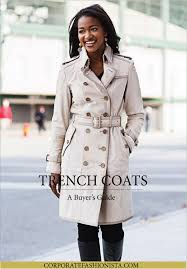 how to a trench coat