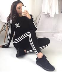 adidas girls. girl in full adidas gear girls s