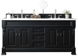 Bathroom Vanity Double Cool 48 Brookfield Antique Black Double Bathroom Vanity