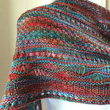 Ravelry Patterns Beauteous Ravelry Stitch Sampler Shawl Pattern By On This Day Designs