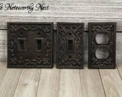 Cast Iron Wall Plate Covers