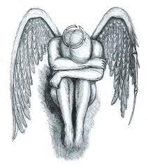 Padlý Anděl 1 Návrhy Tetování Ornamenty Kresbičky Galerie