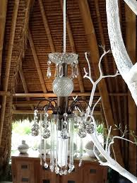 hanging from the chandeliers crystal chandeliers hanging from the white tree at crystal chandeliers hanging from