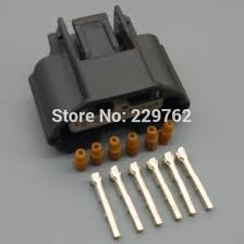 online buy whole nissan connector from nissan connector 15sets 0 6mm 6 pin way car air flow meter plug modified parts auto wire connector