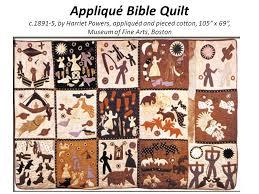 The Art of Quilting In America - ppt video online download & 12 Appliqué Bible Quilt c , by Harriet Powers ... Adamdwight.com