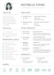 Pages Resume Templates – Resume Web