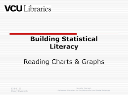Ppt Building Statistical Literacy Reading Charts Graphs