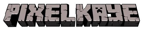 PixelKaye / Minecraft Logo – BryanBelcher.tv