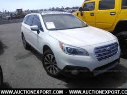 2015 subaru outback interior colors. visit auctionexportcom make subaru model outback 25i limited year 2015 mileage 50259 exterior color white interior black drivetrain colors